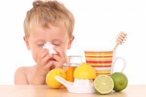 running nose in kids
