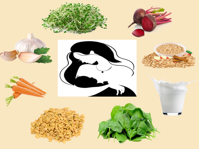 Methods to increase Breastmilk naturally